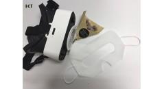 нетканые изделия, очки 3D VR, защитные глаза, маски для глаз