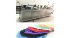 машина для изготовления нетканых колпачков, машина для изготовления колпачков, технология kaxite, машина для производства машин, машина для изготовления обуви