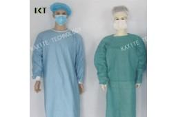 Одноразовые, хирургические платье, SMS, нетканое